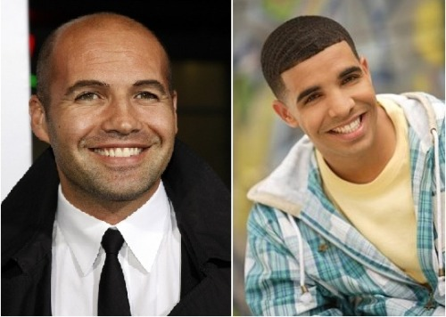 Ever Notice how much Drake looks like Billy Zane??? the down turned eyes, pouty lips, and the nose