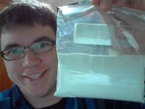 So my cocaine arrived in the mail today! :D