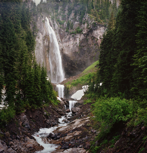 the three-tiered waterfall by Danielle Hughson