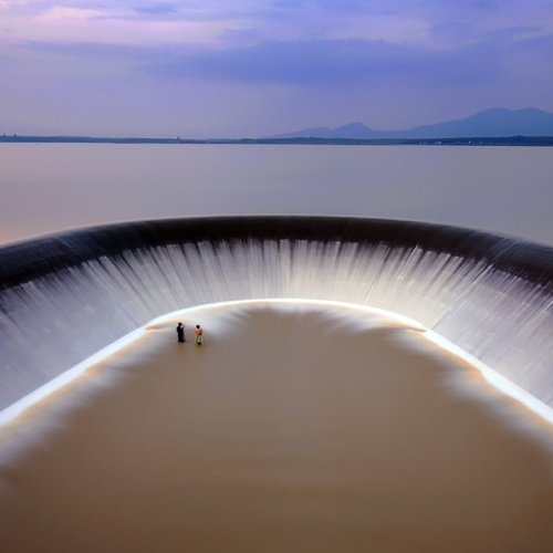 breathtaking waterscape in Rayong, Thailand