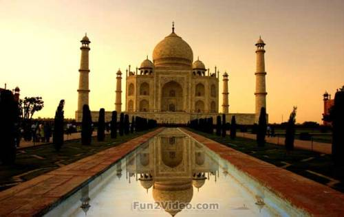 Taj Mahal is a symbol of love