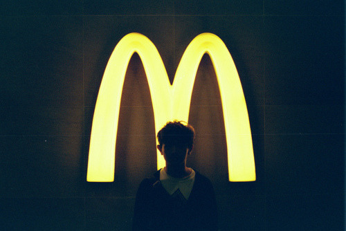 ddrums:  mcdonald's gives me the shits x