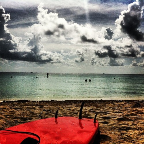 Flat=SUP (Taken with Instagram at South Pointe Beach)