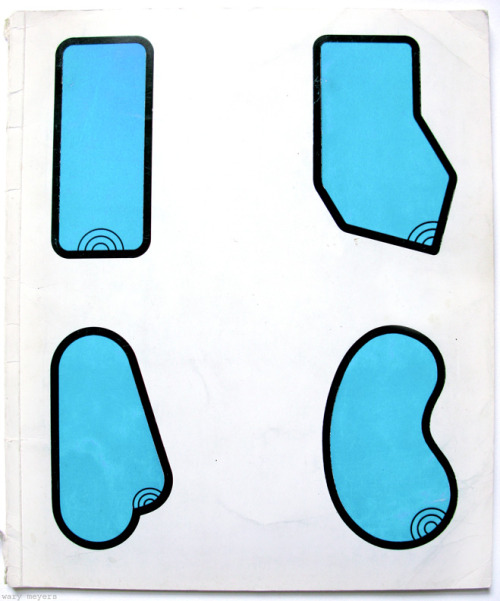 Pool Shapes, Claes Oldenburg, 1964