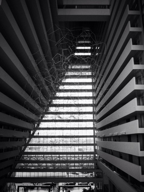 blackandwhite at Marina Bay Sands Hotel by eXindefinable on EyeEm