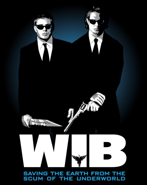 WiB: Winchesters in Black! $10 | 24 Hours Available at ShirtPunch