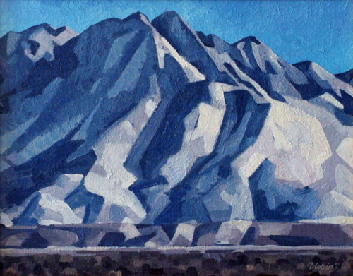 rob-colvin-art:  Mt. Olympus 24x30 inches, oil by Rob Colvin