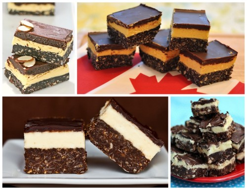 stuffcanadianpeoplelike:  194. Nanaimo Bars. This no bake chocolately goodness originates from Ladysmith, Vancouver Island and is named after the city of Nanaimo, British Columbia.  Recipe here.