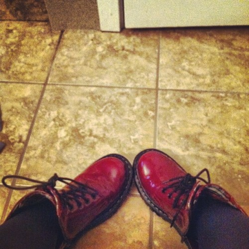 For you @abbiewk #combat #boots #bestever (Taken with Instagram)