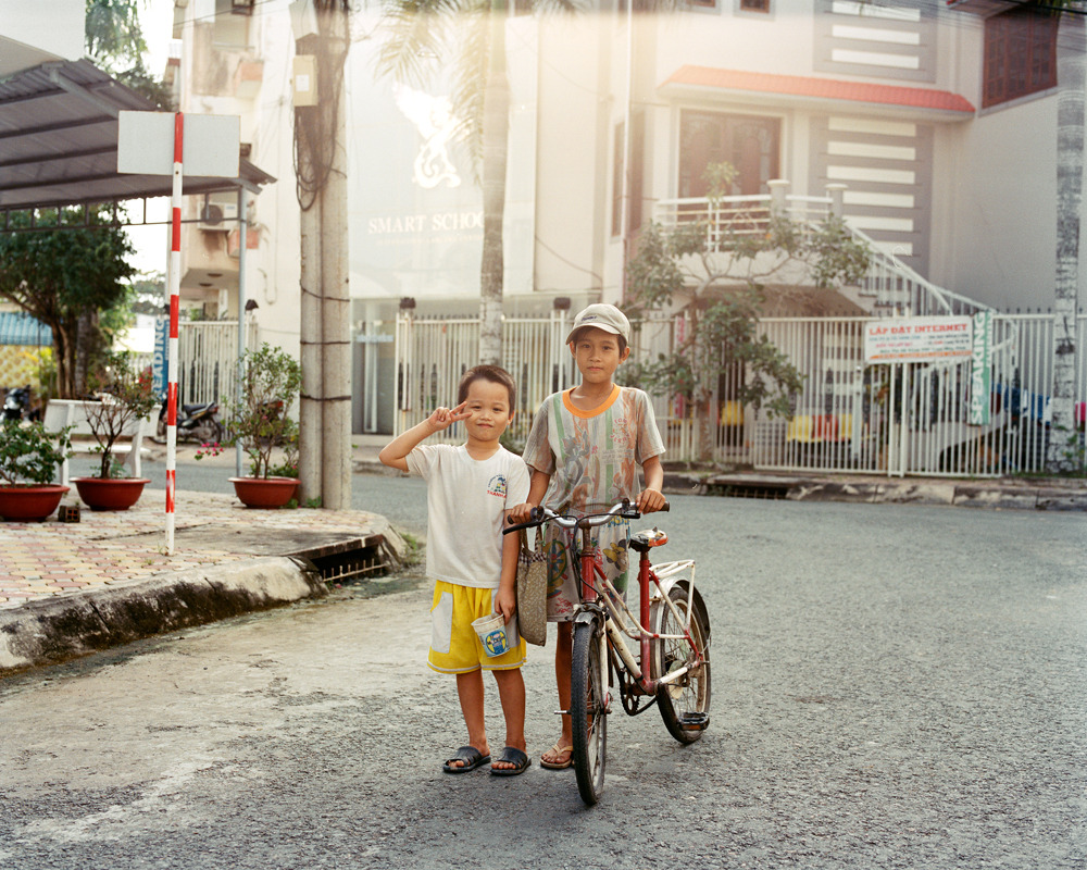 Buddies #2, Vinh Long, Vietnam, 2011