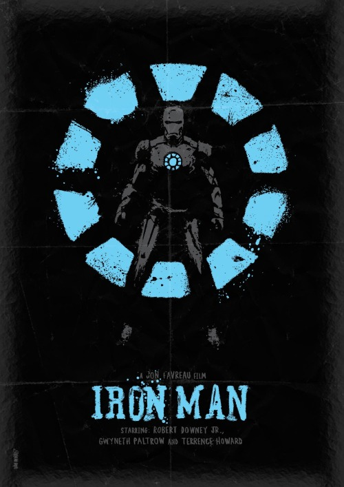 Iron Man by Daniel Norris - @DanKNorris on Twitter
