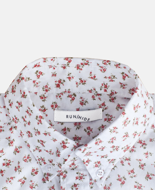 floral print button down | RUN / HIDE