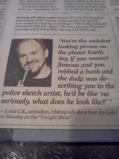 Louis CK is my hero.