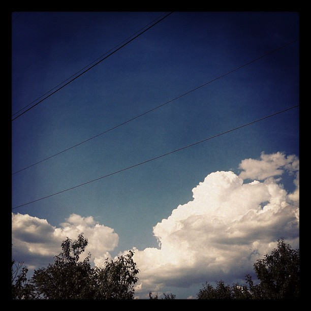 I see clouds… :) (Taken with Instagram)