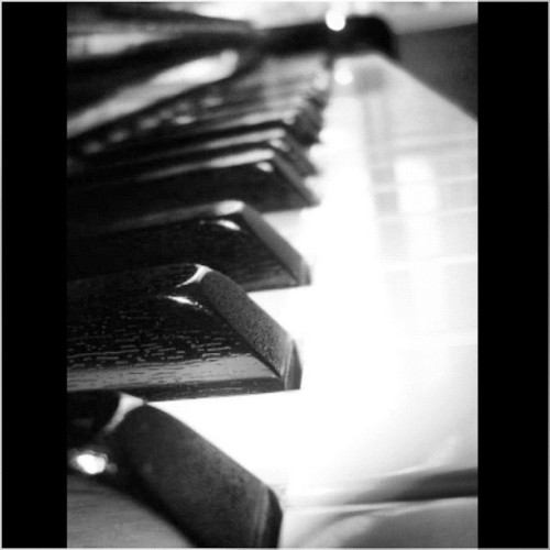 #piano #music #blackandwhite #beauty #photography (Taken with Instagram)