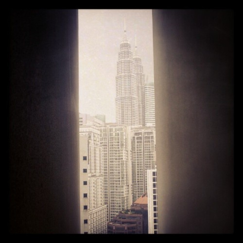 #kl #malaysia #twintowers (Taken with Instagram)
