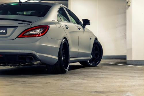 automotivated:  Wheelsandmore Mercedes-Benz CLS 63 AMG (by GermanCarScene)