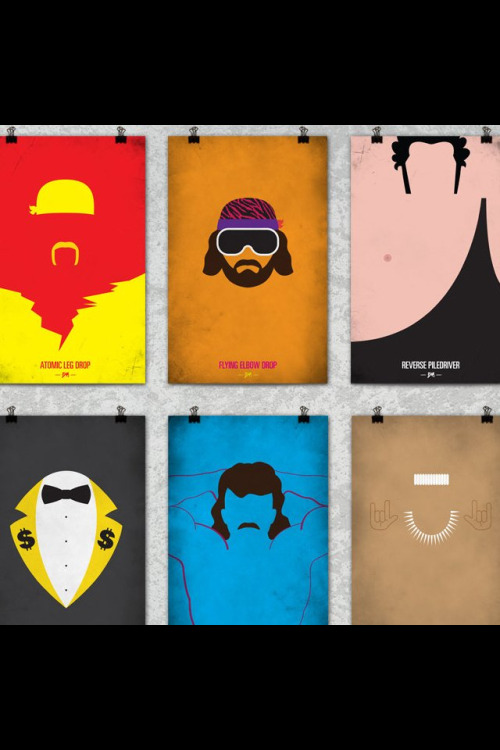 Legends minimalist posters