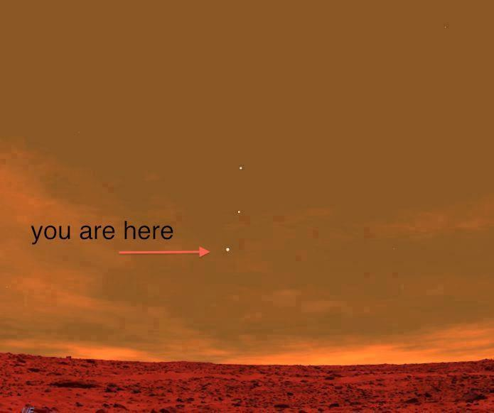 ilovecharts:  Earth, From Mars [is fake]