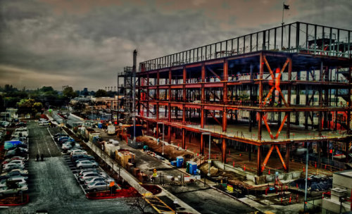 Urbanscape#hdr #construction #fineart #art #omof #sanjose #california #architecture #photography #bayarea #hdri(from @rsan on Streamzoo)