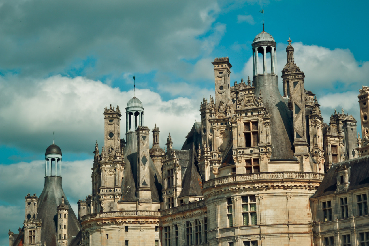 Château de Chambord, Francia. credit: not sure. my boyfriend or me :)