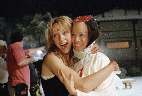well-fed:  On Set: Kill Bill: Vol. 1 (2003)