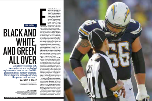 In this week's SI: Who are the NFL's referees? And why are they locked out?