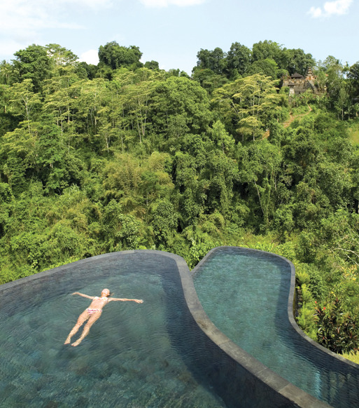 condenasttraveler:  12 Head-Turning Hotel Infinity Pools | Ubud Hanging Gardens, Bali, Indonesia