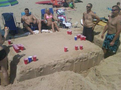 "‎""Welcome to Beer Pong Beach"""
