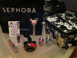 All the stuff I bought at sephora the other day.