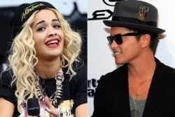 "RITA ORA & BRUNO MARS used to be an item, but what happened? Ora recently revealed the following.  ""It was love at first sight, such a great experience. We met in 2009. I was 18 and starting out at Roc Nation. Bruno was unknown back then too. He was a struggling songwriter hired to write songs for me. I thought, 'Wow, that's just the world's greatest guy!'. Our time together was wonderful. But once we got famous, work got in the way. We ended it last year. But we remained close. And when we were together we were so happy."""