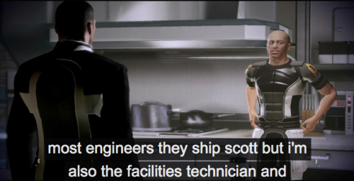 9 out of 10 Alliance engineers ship Scott.