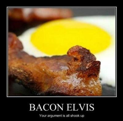 Bacon = The King