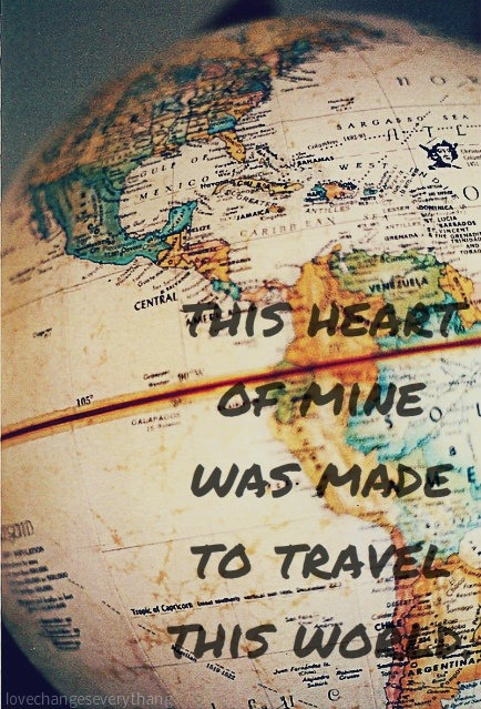 Travel this world