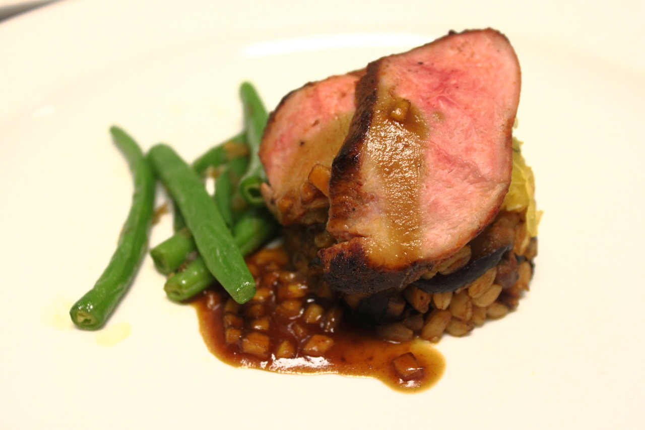 Duck and Farro Plate #1 - Nutritional Segment, CMC Exam