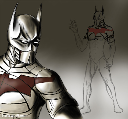 Here's a project that I kind of lost steam on. I tried to do a Batman Beyond concept in the style of the Christopher Nolan movies. I don't know if I'll ever finish it, so I figured I'll post what I've got. I think it's worth a look.