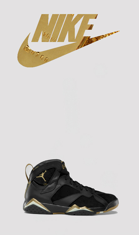 phuckindope:  Jordan gold moment 7s