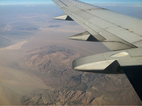 The desert…  Working my way home.