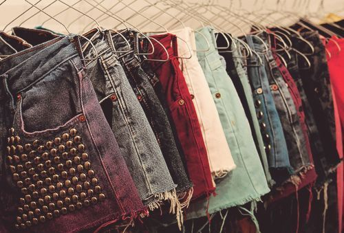 We LOVE denim shorts and their endless possibilities!!