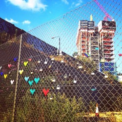 The Shoreditch Love Lock Fence »Who's Jack @whosjack.org