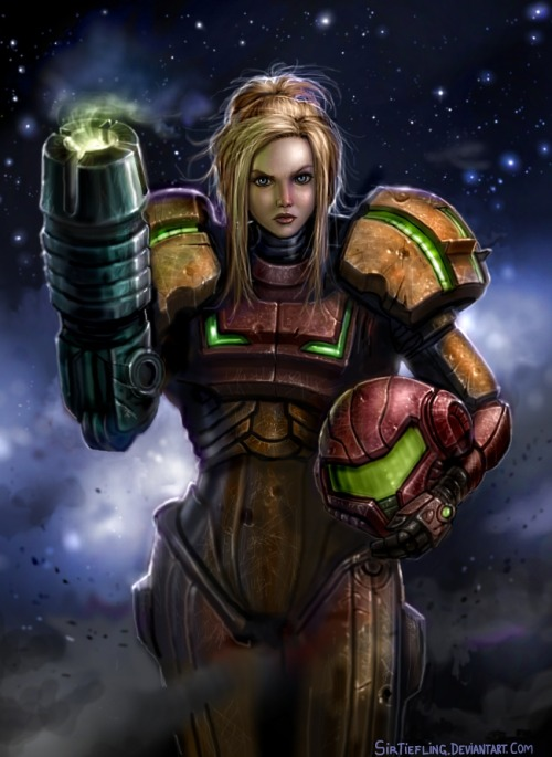 Samus is Not A Toy! by SirTiefling Via: xombiedirge