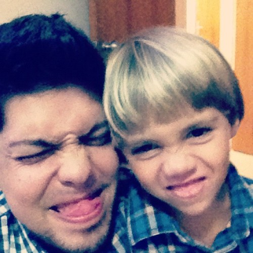 Sebastián and #me #people  (Tomada con Instagram)