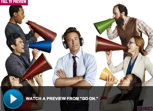 'Go On'…watch the preview for Matthew Perry's new TV show!