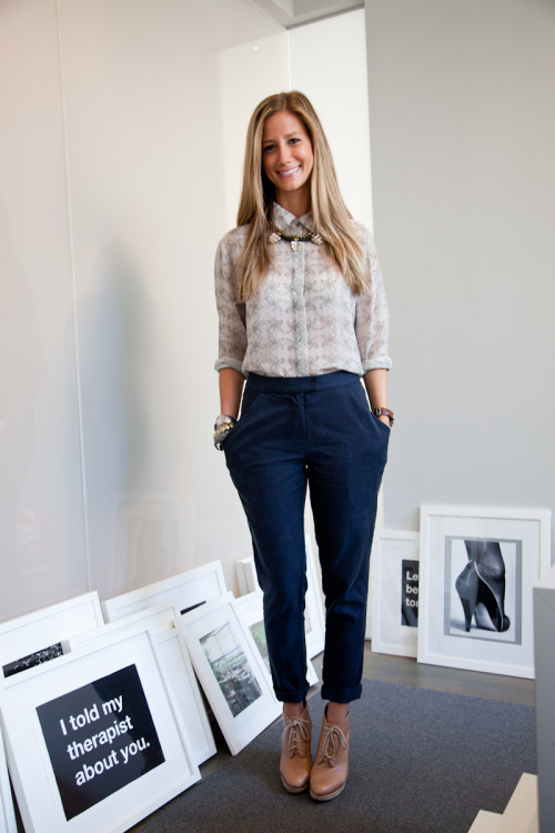 Today on Glamour.com: Meet the pr girls from Krupp Group (and peep their fab office!).