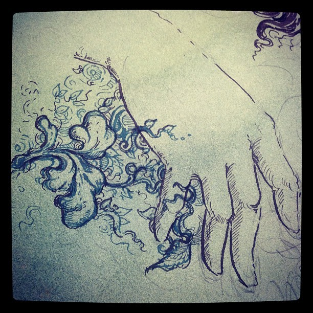 mollycrabapple:  Start of something (Taken with Instagram)