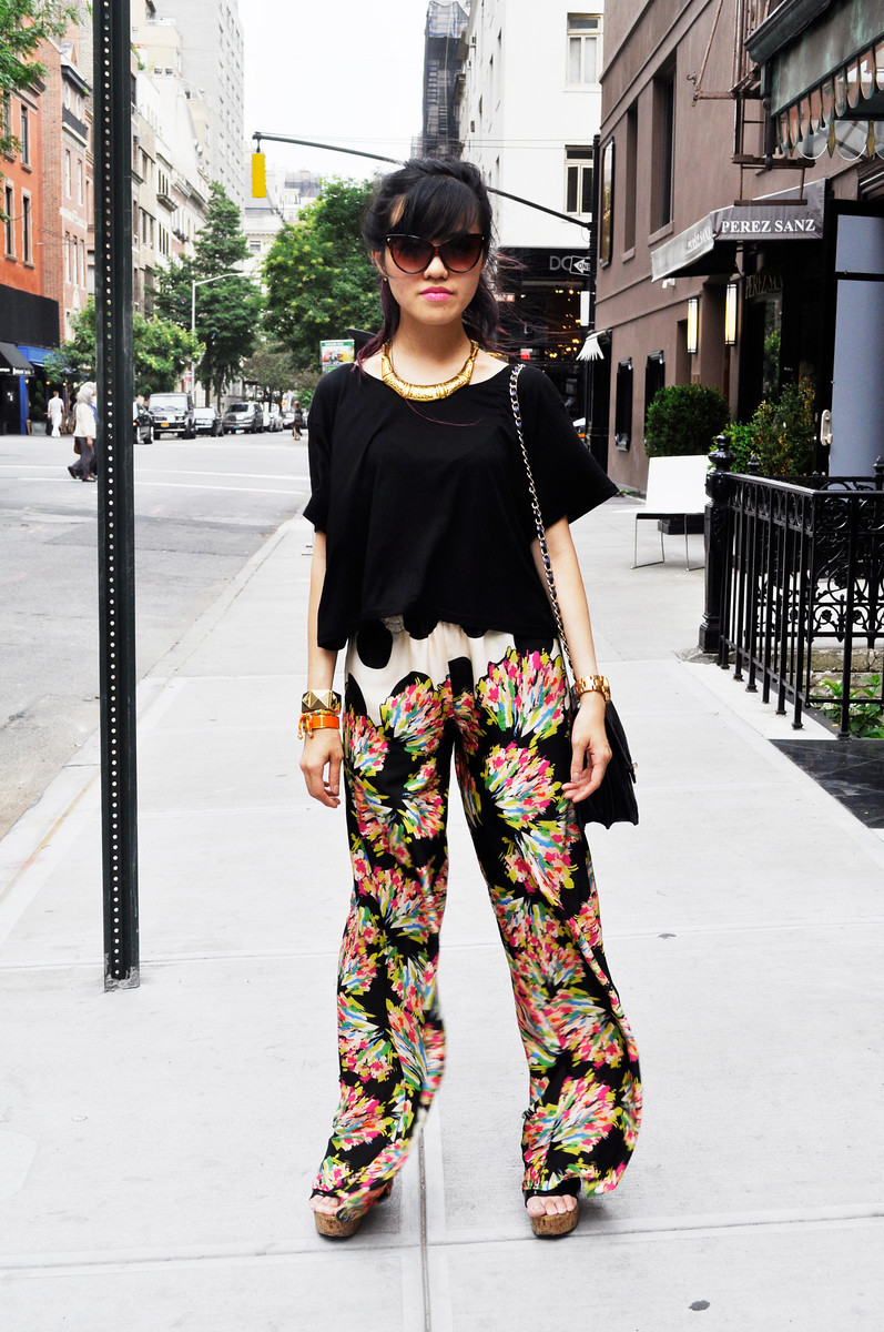 Rachel - FIVE STORY NY   Zara pants // Vintage Chanel