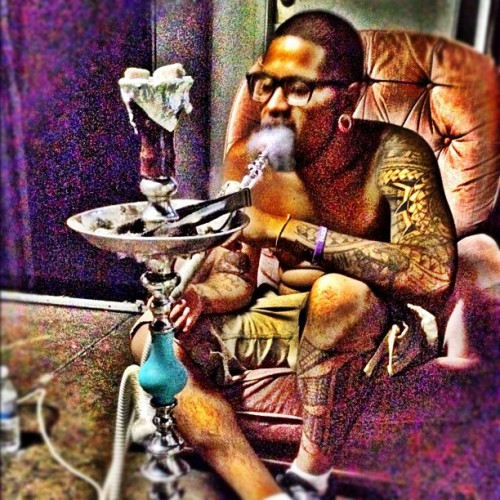 My Brodee @CUZZEEE on his HOOKAH SHIT! - @nicc408- #webstagram