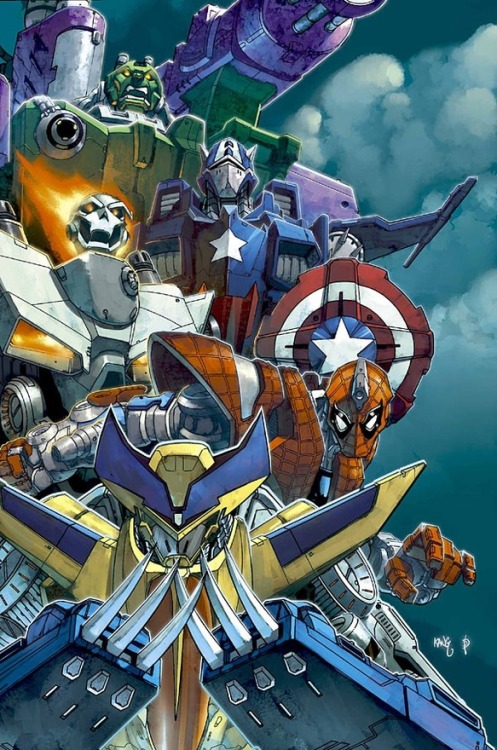 chunkysmoker420:  Marvel superhero Transformers