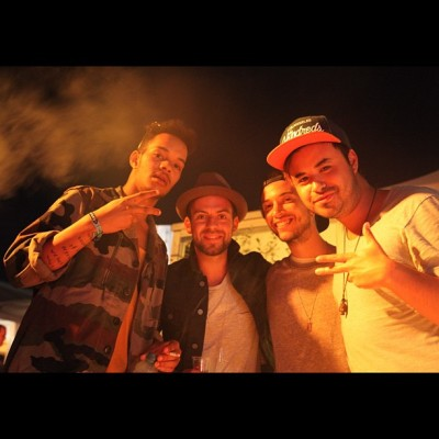Rizzle hangs at Pukkelpop. (Taken with Instagram)