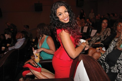 """American Idol"" winner Jordin Sparks is looking to break out in the new musical drama ""Sparkle,"" mirroring the success of another Idol, Jennifer Hudson. But for all her promise in the 1960s-era movie, which opened Friday, the most-talked-about aspect of the film is that it's the last chance to see — and hear — performances by Whitney Houston, who died in February. Last Tuesday, Sparks hit the premiere at the Tribeca Grand Hotel in red-hot Giuseppe Zanotti pumps and made the promotional rounds, speaking about the pop diva's long-lasting impact."